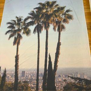 LA Palm Tree Tapestry